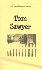 Tom Sawyer program cover.